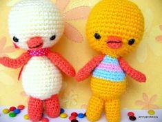 two little chicken amigurumi pattern free