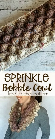 The new Caron Sprinkle Cake yarn is so fun that I wanted a fun pattern to go along with it! This pattern makes a large cowl that fits loosely around the neck. I love the neutral colors in this yarn, with the specks of bright colors. It's so fun and unexpected! This pattern is available …