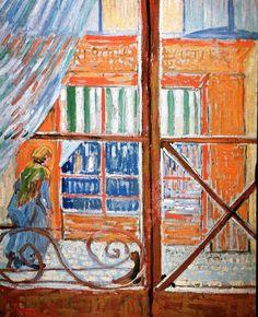 Vincent van Gogh — A Pork-Butcher's Shop Seen from a Window, 1888,...