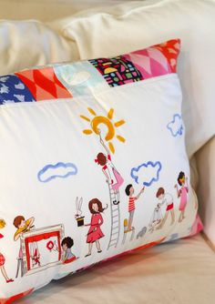 Make Believe Panel pillow || Sarah Jane