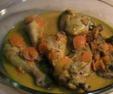 Ricetta Fusi di pollo al curry con yogurt e carote pubblicata da palmagiuliana79@gmail.com - Questa ricetta è nella categoria Secondi piatti a base di carne e salumi