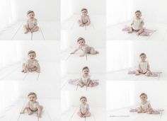 Los Angeles Newborn Baby Photography - all white
