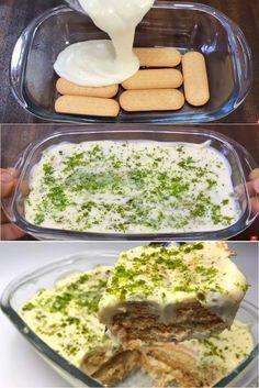 Pavê de Limão uma sobremesa simples, rápida e fácil!