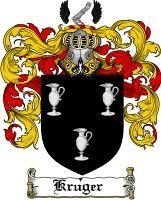 Kruger Coat of Arms / Kruger Family Crest