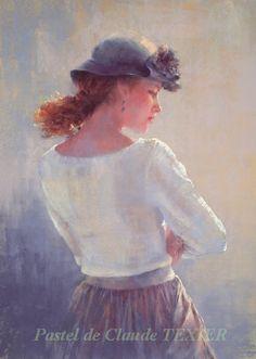 Pastel de Claude Texier