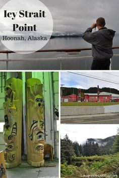 Visit Icy Strait Point in Hoonah, Alaska! So full of beauty and rich with culture.