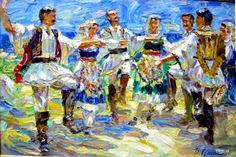 Greek dance. \\ Igor Semenihin