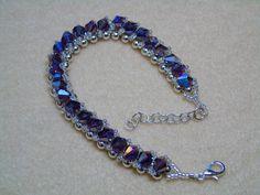 Wire Jewelry, Jewelry Crafts, Beaded Jewelry, Unique Jewelry, Jewlery, Seed Bead Bracelets, Seed Beads, Bead Art, Anklets