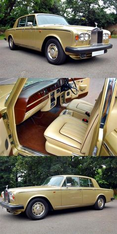 Vintage Cars Classic 1981 - Rolls Royce Silver Shadow 2 - 6000 ml.