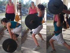 Lifting heavy!  Girl who lift