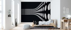 Art & Design is a popular wall mural category for all rooms and settings. You can count on high quality and fast and free delivery with Photowall. Dots Design, Wall Murals, Home Decor, Rome, Kunst, Wallpaper Murals, Decoration Home, Murals, Room Decor