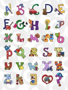 See related links to what you are looking for. Alphabet Templates, Alphabet Crafts, Alphabet Design, Alphabet For Kids, Alphabet Art, Animal Alphabet, Alphabet And Numbers, Creative Lettering, Lettering Design