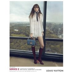 Freja Beha Erichsen by Annie Leibovitz for Louis Vuitton S/S 2015 Campaign Another spring-summer 2015 campaign has been revealed with French fashion house