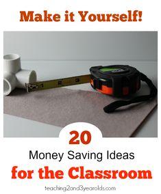 Classroom DYI Ideas for Teachers