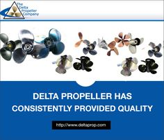 The Delta Propeller Company provides new and refurbished boat propellers to commercial and recreational boaters. An entire inventory of boat propellers and boat props is available at DeltaProp.com Delta Prop is located in Cleves, Ohio and prides itself on a wide selection and quick shipping. Go to DeltaProp.com today. Boat Props, Boat Propellers, Props For Sale, Boater, Feature Film, Commercial, Product List, Ohio, Alice