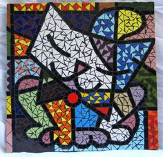 Romero Britto - mosaic from picture
