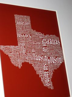 Awesome typography map!