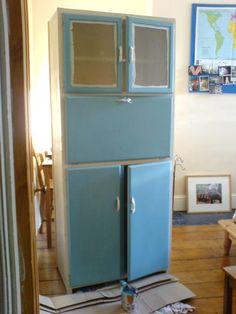 Restored 1950s Kitchen Cabinet