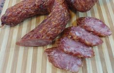 Kiełbasa Swojska Czosnkowa – Blog kulinarny Smokehouse, Kielbasa, Sausage, Wordpress, Meat, Blog, Sausage Recipes, Smoking Room, Sausages