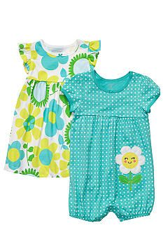Carters Daddy's Girl Romper & Dress Set « Clothing Impulse Daddys Girl, My Baby Girl, Baby Love, Romper Dress, Baby Dress, Dress Set, Ruffle Dress, Carters Baby, Baby Girl Fashion