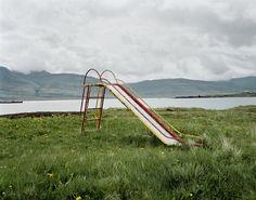 Breidalsvik, Iceland - 20x200. by Bob O'Connor