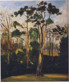 """Woods at Mimizan"" by Winston Churchill"