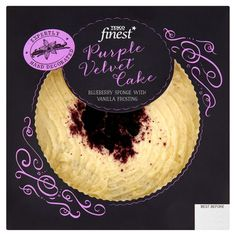 Purple Velvet Cake Tesco