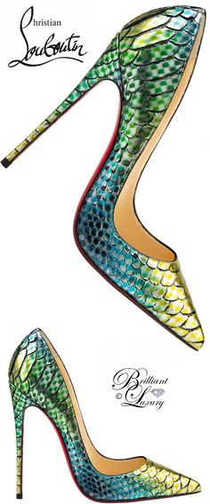 Brilliant Luxury ♦ Christian Louboutin So Kate Pointed-Toe Red Sole Pump