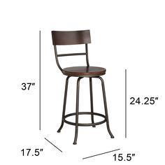 Swivel Counter Stools, Bar Stools, Media Room Design, Industrial Stool, Updated Kitchen, Cushion Fabric, Flooring, Wood, Bronze