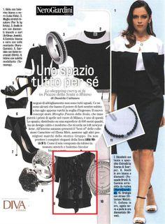 DIVA E DONNA - 8 APRILE 2014  La #camicetta firmata NeroGiardini dona un tocco di eleganza al tuo outfit.  The black ROUCHES VOILE SHIRT: a touch of #NeroGiardini style.