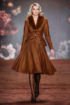 MBFW Lena Hoschek Womenswear Fall Winter 2016 Collection