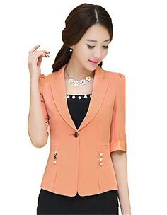 My Wonderful World Women's One Button Candy Color Short Suit Small Orange My Wonderful World Blazer Coat Jacket http://www.amazon.com/dp/B018LMJ1O4/ref=cm_sw_r_pi_dp_5pawwb1TAEQPV