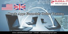 Oracle Apps Financials online Training   Rudra IT Solutions Professional IT corporate, Oracle Apps Finance  online Training and Consulting Company..Rudra IT Solutions is one of the Promote lea…