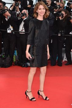 Sofia Coppola in Louis Vuitton at the Cannes Film Festival (via @Vogue Paris)