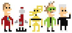 MST3k ioticons. Cute!