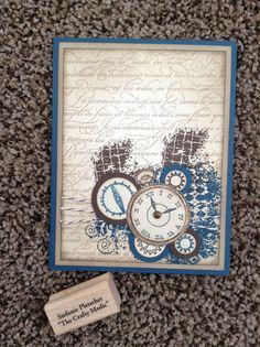SU Clockworks Stamp Set