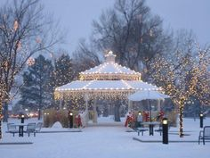 Parker, Colorado...small town feel and a beautiful place to live. This is exactly how downtown looks in the winter!! I love living here! :)