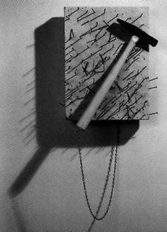 .yoko ono, painting to hammer a nail 1966