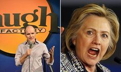 Hillary Clinton aide 'demands comedy club take down video mocking her'