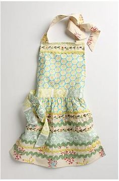 Frilly anthropology aprons - I have 5!