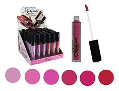Set of 6 Colors Madly MATTE Lipgloss Bold