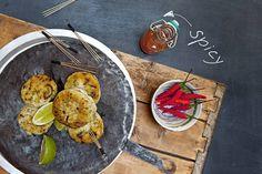 Das Rezept für Thai-Fischküchlein mit Koriander mit allen nötigen Zutaten und der einfachsten Zubereitung - gesund kochen mit FIT FOR FUN