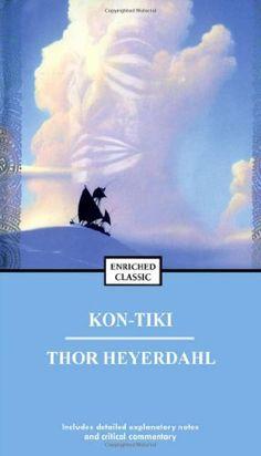 Kon-Tiki: Across the Pacific in a Raft by Thor Heyerdahl http://smile.amazon.com/dp/0671726528/ref=cm_sw_r_pi_dp_20z.wb1XSEY6Q