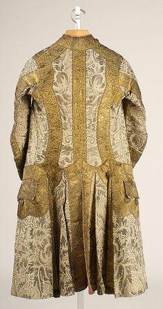 Ensemble, Coat (back),   Date:     17th century Culture:     Italian Medium:     silk Accession Number:     C.I.63.26a–f