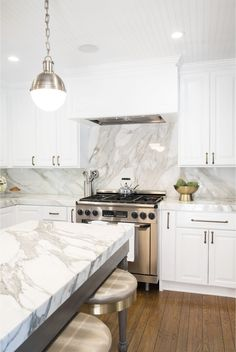kitchen update from STUDIO LIFE.STYLE. designers Shannon Wollack and Brittany Zwickl.  This is a kitchen they remodeled for a client here in the Los Angeles area.  The designers shared some of their sources and design thinking behind transforming this space into a cute kitchen.  They estimate that a remodel like this would cost between $30K-40K.