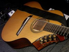 Guitars, Ukuleles, etc. [Necked Box Lutes played with Hands] 66 - Harp Guitar (of Daniel Ek) | Flickr - Photo Sharing!