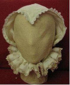 Woman's cap, Spanish, 16th C.