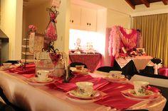Pink Paris Tea Party
