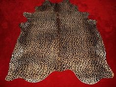 Hollywood Love Rugs Leopard Print Cowhide On Caramel 299 00 Http