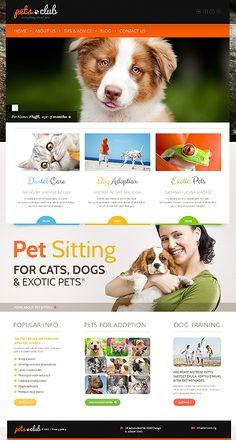 Animals & Pets WordPress Theme #website http://www.templatemonster.com/wordpress-themes/44159.html?utm_source=pinterest&utm_medium=timeline&utm_campaign=white